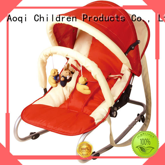 Aoqi swing neutral baby bouncer factory price for infant