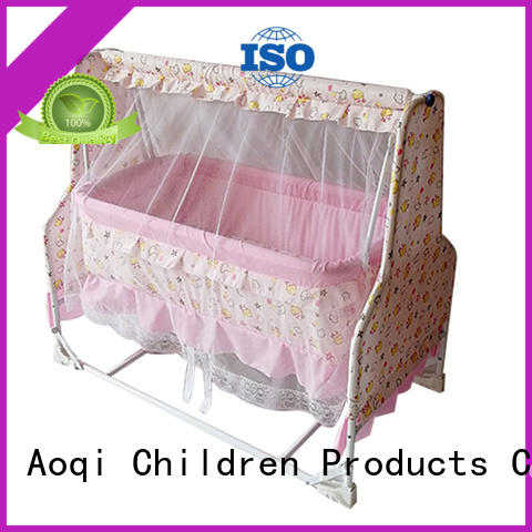 Aoqi transformable wooden baby crib for sale series for bedroom
