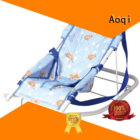 Wholesale canopy comfortable baby bouncer and rocker Aoqi Brand