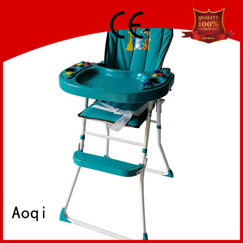 plastic metal Aoqi Brand high chair price factory