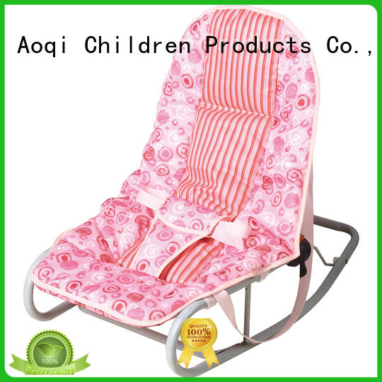 Aoqi comfortable baby boy bouncer chair wholesale for home