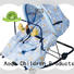 Aoqi foldable baby bouncer with canopy play for home