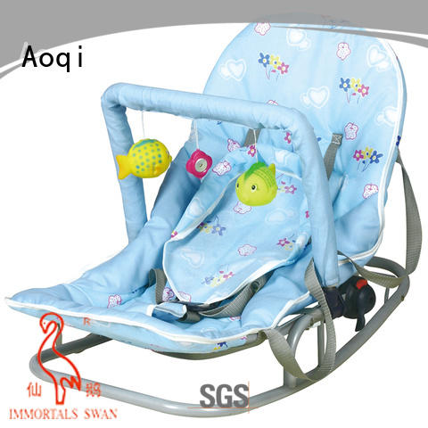 Aoqi comfortable newborn baby rocker factory price for infant