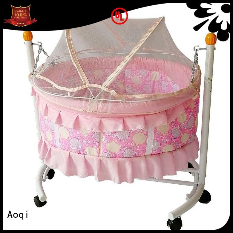 Hot basket baby crib online kids swing Aoqi Brand