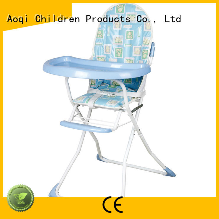 Wholesale portable multi-colors child high chair Aoqi Brand