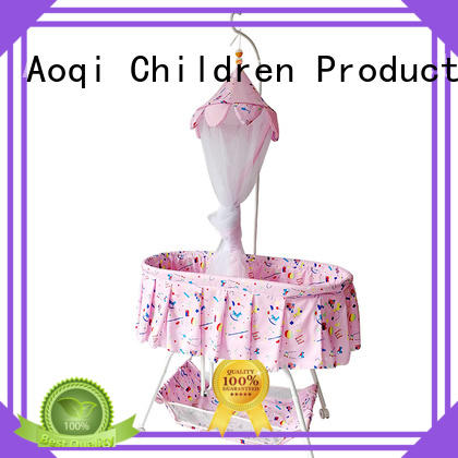iron shape baby cots and cribs Aoqi Brand