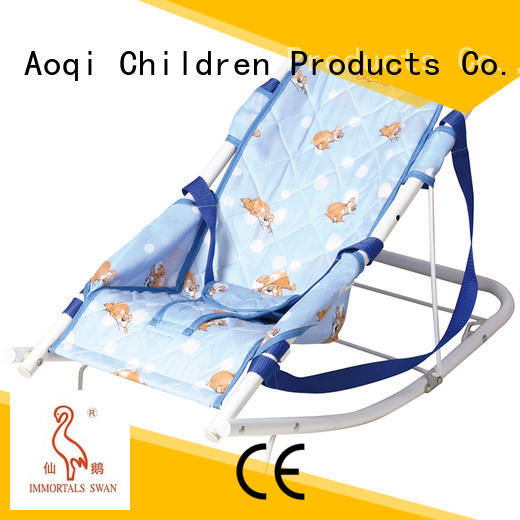 bouncer play foldable baby bouncer and rocker Aoqi Brand company