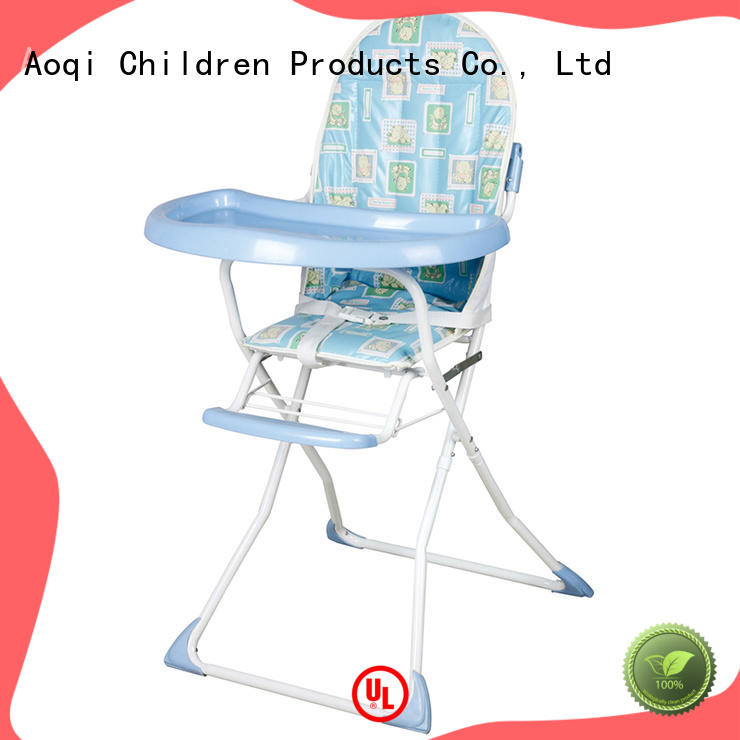 Aoqi adjustable high chair for babies customized for home