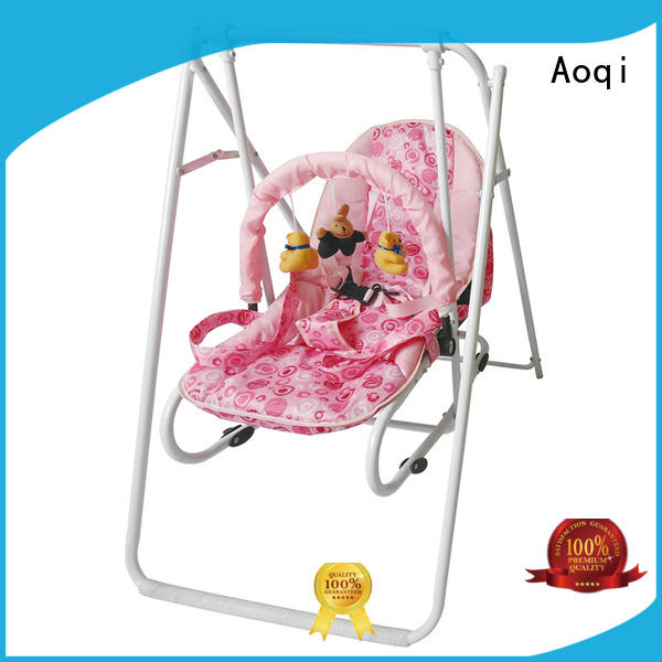 Aoqi baby musical swing chair with good price for household