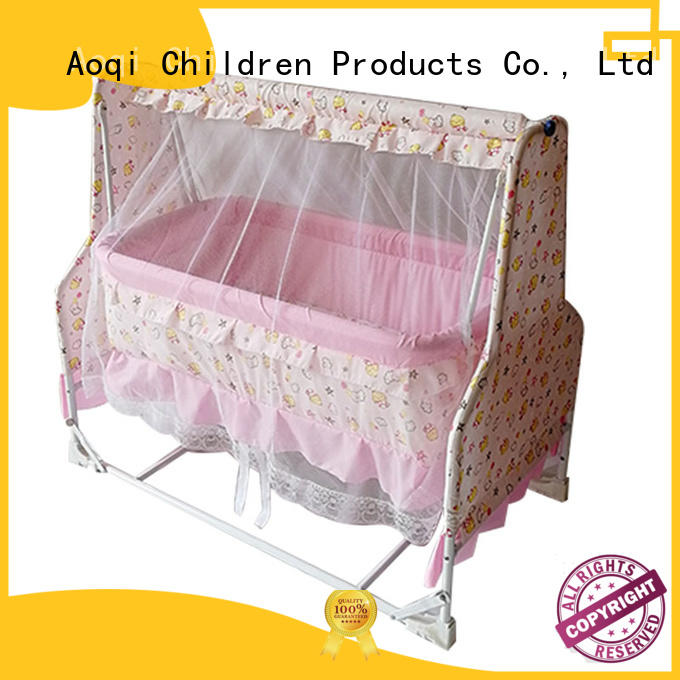 Aoqi baby cot bed sale manufacturer for household