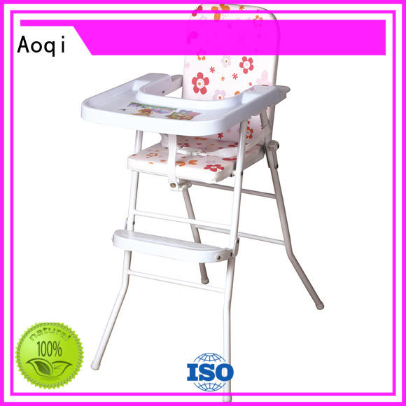 plastic folding baby high chair from China for infant