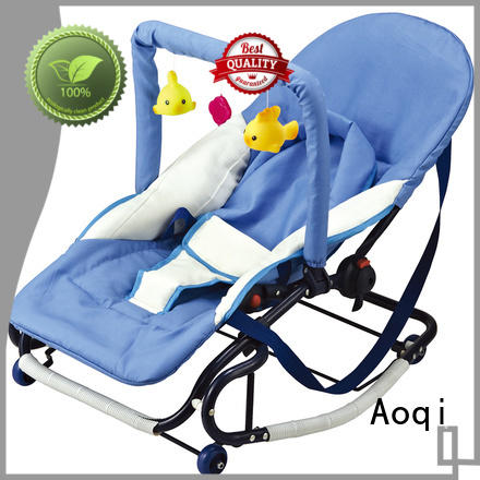 canopy Custom portable baby bouncer and rocker swing Aoqi
