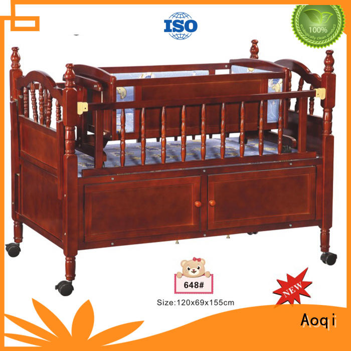 round shape baby cradle bed with cradle for babys room