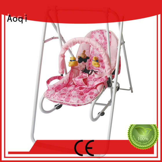 Aoqi hot selling cheap baby swings for sale design for household