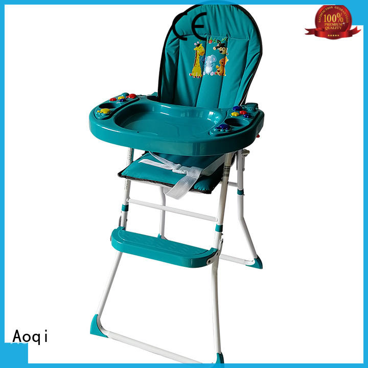 Aoqi foldable baby high chair from China for livingroom
