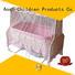 Aoqi Brand electric round iron baby crib online manufacture