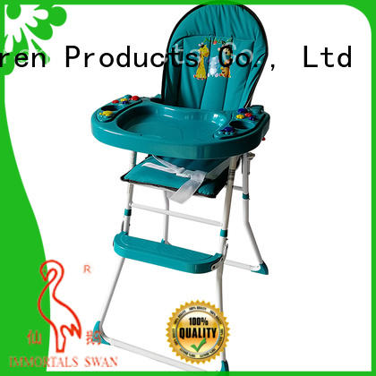 Aoqi special folding baby high chair directly sale for livingroom