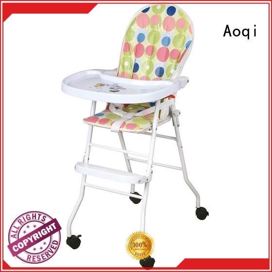 special foldable baby high chair customized for livingroom