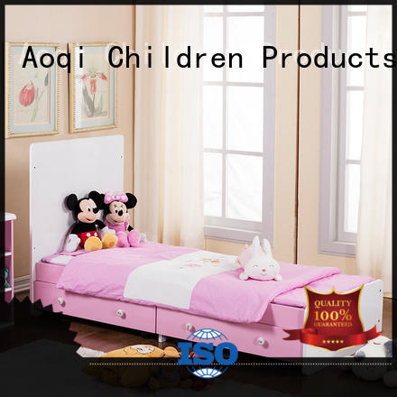 Aoqi wooden baby crib cheap price swing for kids