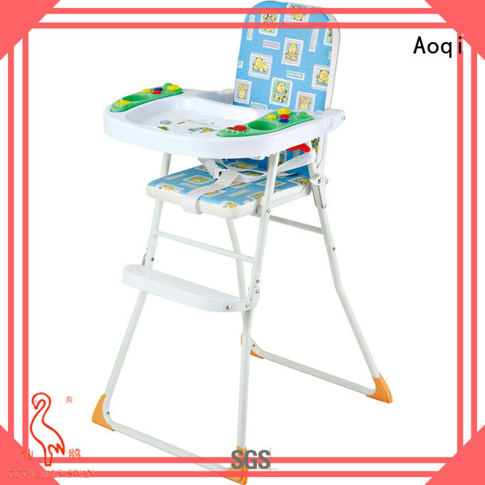 plastic foldable baby high chair manufacturer for infant
