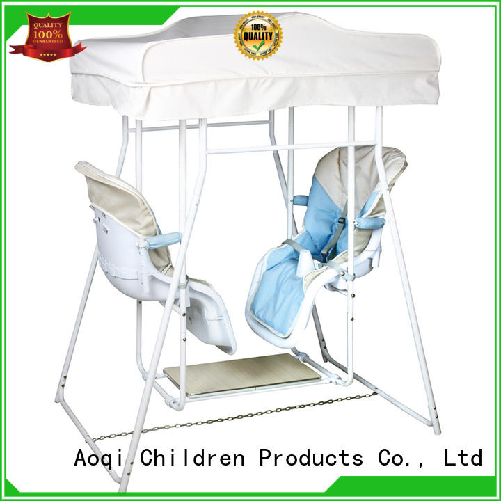Aoqi quality baby swing price inquire now for kids