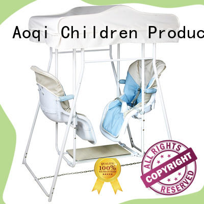 Aoqi quality upright baby swing with good price for household