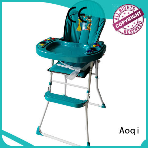 Aoqi dining folding baby high chair manufacturer for home