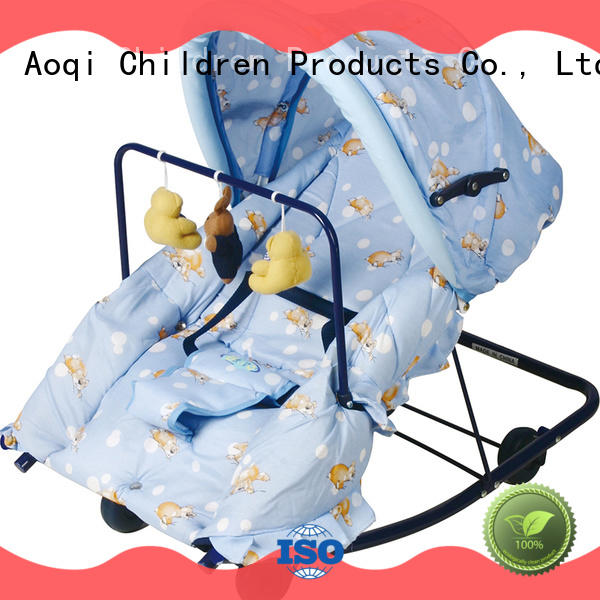 Aoqi portable baby bouncer supplier for infant