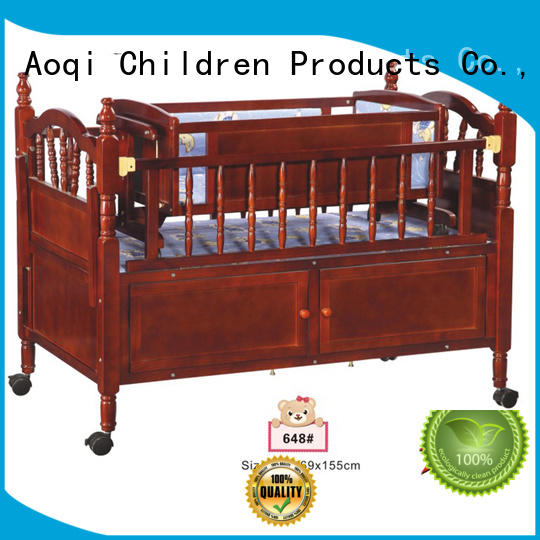 portable swing iron baby crib online cabinet Aoqi