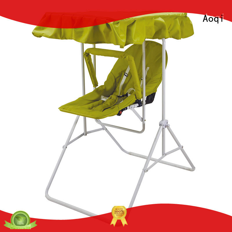 Aoqi quality upright baby swing design for household