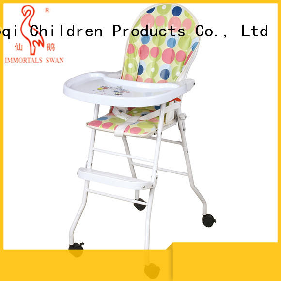 Aoqi cheap baby high chair directly sale for livingroom