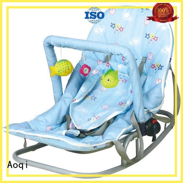 Aoqi simple baby girl bouncer chair supplier for infant