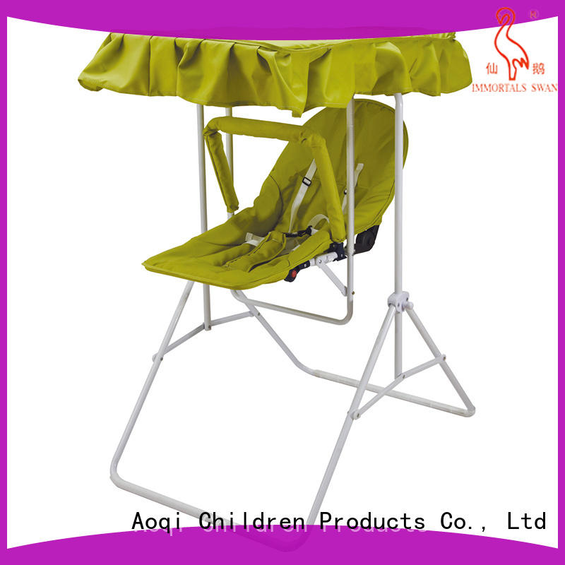 Aoqi cheap baby swings for sale factory for kids