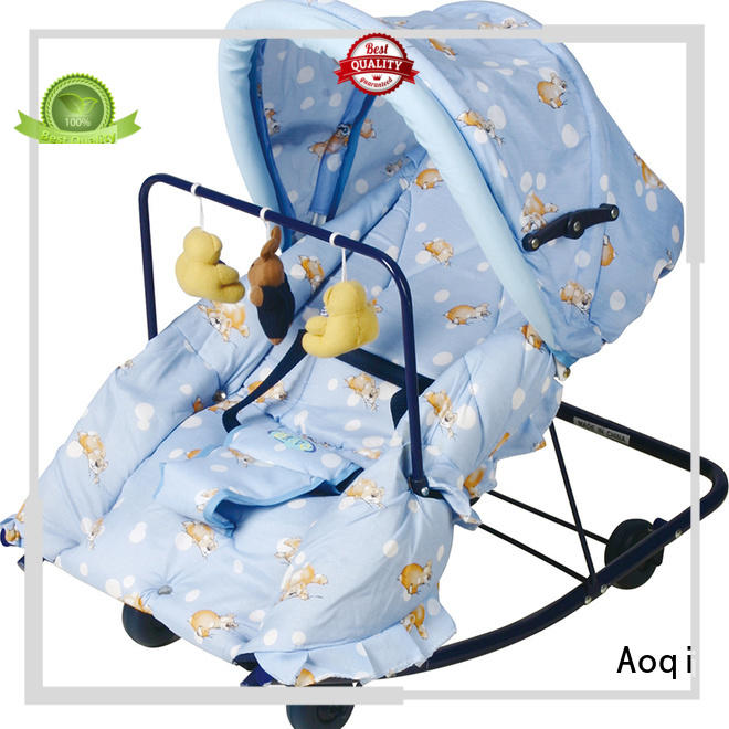 safe portable toddler rest baby bouncer and rocker Aoqi