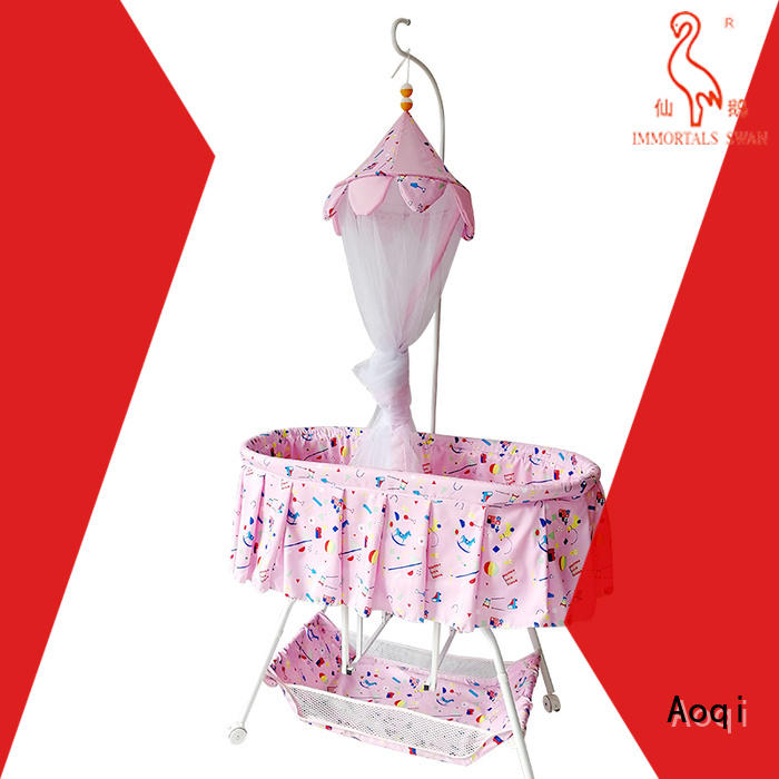 Aoqi transformable baby crib online from China for bedroom