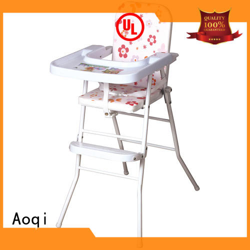 Aoqi foldable child high chair directly sale for home
