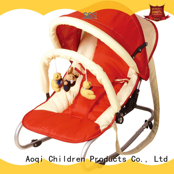 Aoqi swing baby bouncer price supplier for bedroom