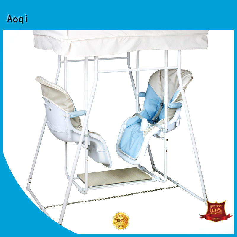 Hot metal cheap baby swings for sale portable swing Aoqi Brand