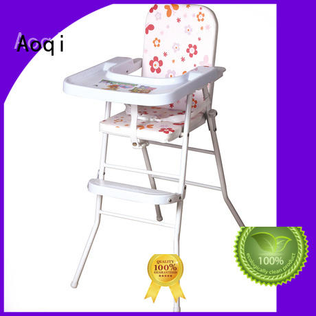 plastic special adjustable child high chair multi-colors Aoqi Brand