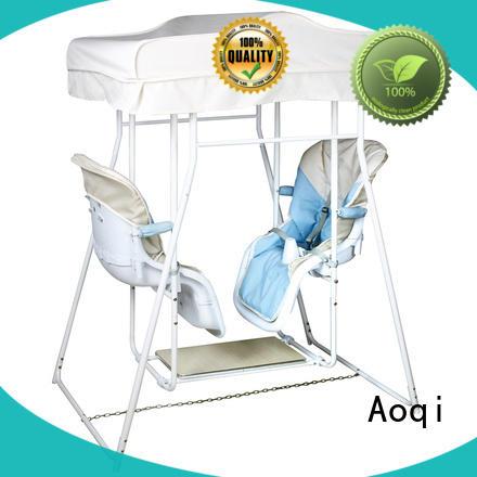 Aoqi multifunctional buy baby swing factory for kids