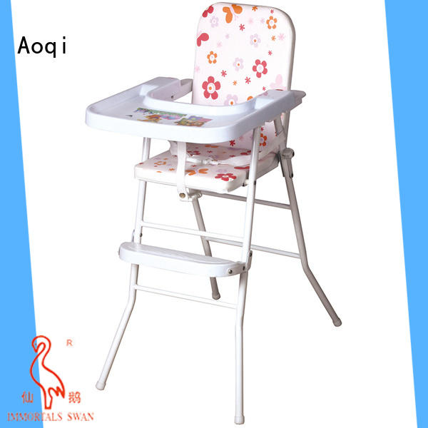 Aoqi special foldable baby high chair from China for livingroom