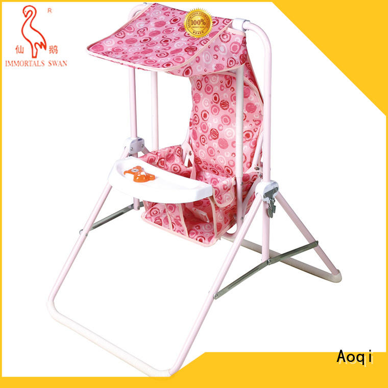 Aoqi standard baby musical swing chair factory for household