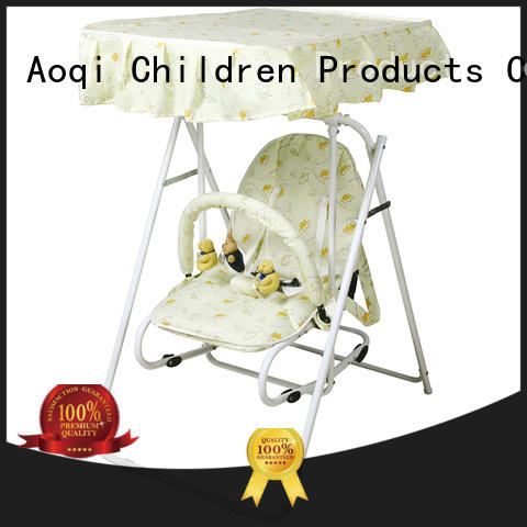 Aoqi hot selling babies swing design for babys room