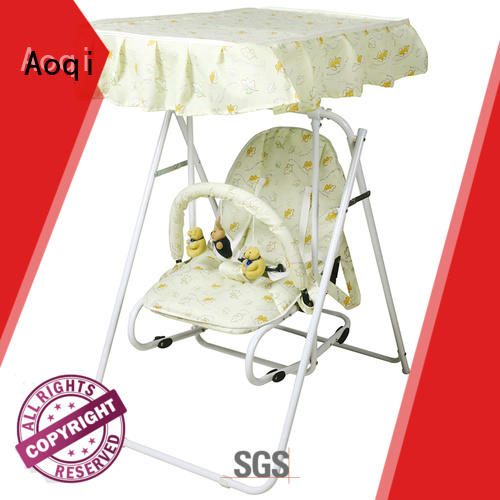 standard upright baby swing design for kids