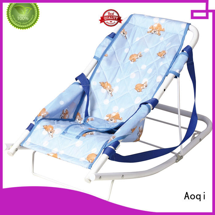Aoqi professional cheap baby bouncer chair for infant