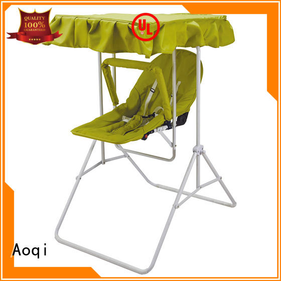 wholesale bouncer portable Aoqi Brand baby swing chair online manufacture