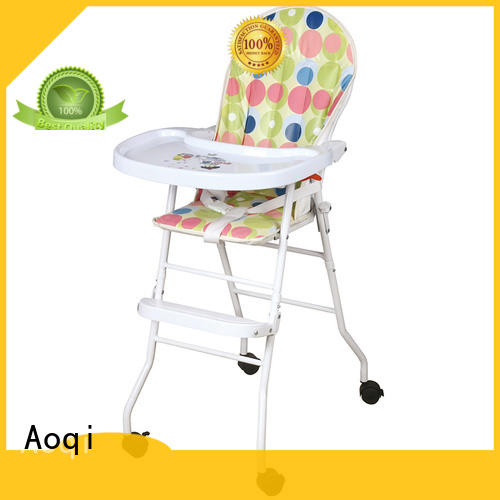 Aoqi portable adjustable high chair for babies customized for livingroom