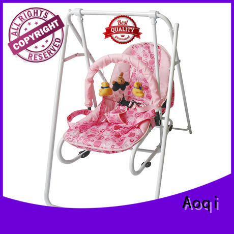 adjustable high quality cheap baby swings for sale portable Aoqi company