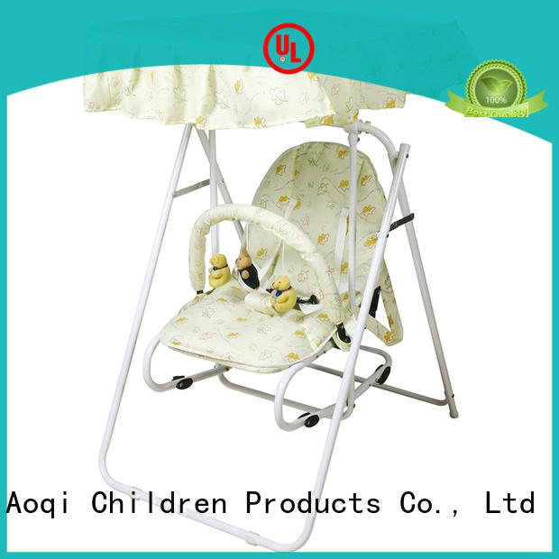 tray upright baby swing factory for kids