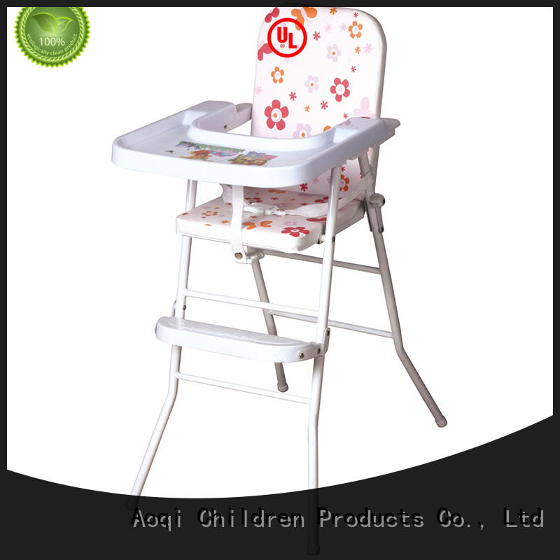 foldable baby feeding high chair customized for infant